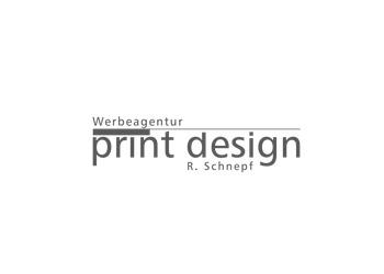 Logo Firma Werbeagentur Print Design Schnepf GmbH & Co.KG in Leutkirch im Allgäu